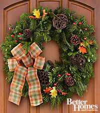 The FTD® Harvest Welcomings Wreath by Better Homes and Gardens®