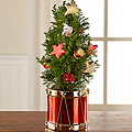 Tidings of Joy Christmas Mini Tree