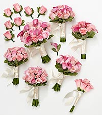Perfect Pinks Complete Wedding Package