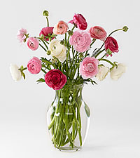 Be Mine Ranunculus Bouquet
