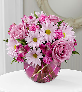 The FTD® Radiant Blooms™ Bouquet - VASE INCLUDED