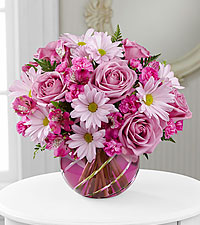 Le bouquet Radiant Blooms<sup>&trade;</sup> de FTD® - VASE INCLUS