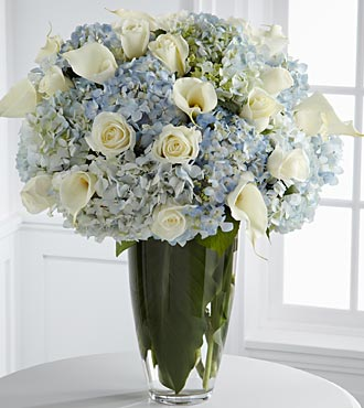 Imagine Luxury Bouquet -15 Stems of 24-inch Premium Long-Stemmed Roses with Calla Lilies & Hydrangea