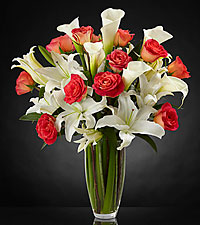 Blessings Luxury Rose Bouquet - VASE INCLUDED