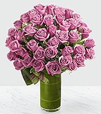 Le bouquet de roses Sensational Luxury - roses de première qualité à tiges de 24 pouces - VASE INCLUS