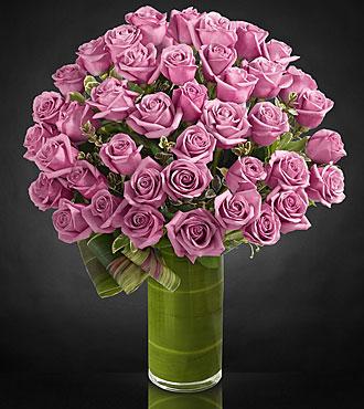 Le bouquet de roses Sensational Luxury - roses de première qualité à tiges de 24 pouces