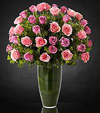 Serenade Luxury Rose Bouquet - 24-inch Premium Long-Stemmed Roses - VASE INCLUDED