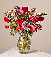 Truly Madly Deeply Bouquet Original With Vase