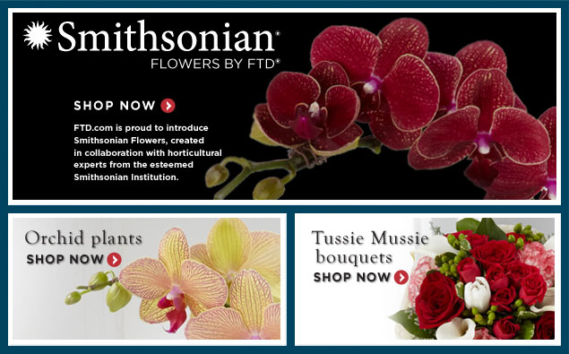 Smithsonian Flowers by FTD