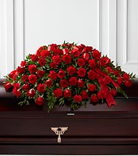 The FTD® Dearly Departed™ Casket Spray
