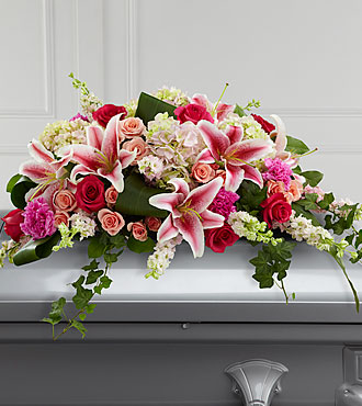 La gerbe mortuaire Splendid Grace™ de FTD®