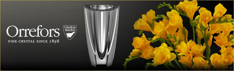 Orrefors Crystal Vases Flower Arrangements Ftd