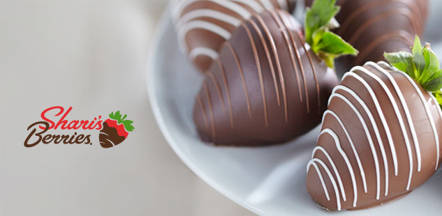 Shari's Berries Limited Edition Chocolate Dipped.