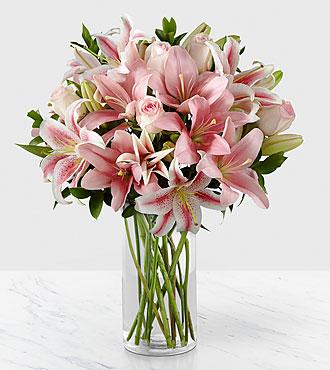 Le bouquet Always & Forever™ de FTD® - VASE INCLUS
