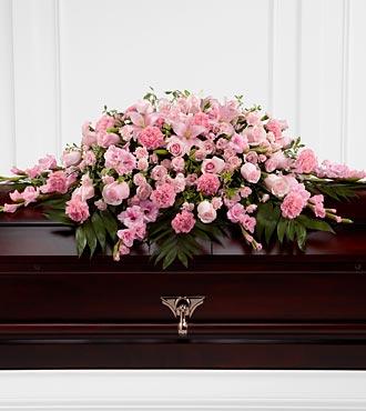 La gerbe mortuaire Sweetly Rest™ de FTD®