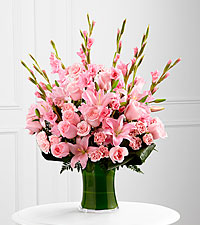 The FTD® Lovely Tribute™ Bouquet- VASE INCLUDED