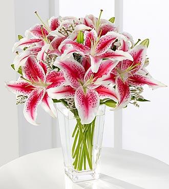 Le bouquet de lys roses de FTD®