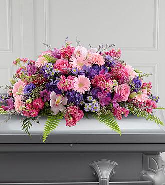 La gerbe mortuaire Glorious Garden™ de FTD®