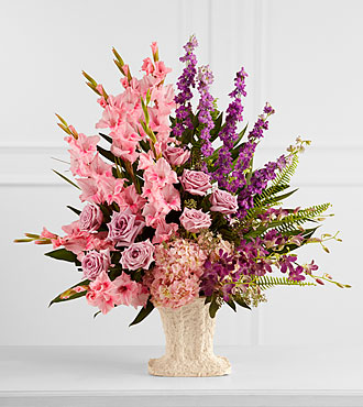 The FTD® Flowing Garden™ Arrangement
