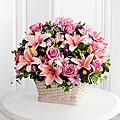Loving Sympathy™ Basket- BASKET INCLUDED