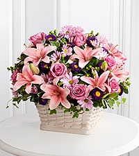 The FTD® Loving Sympathy™ Basket- BASKET INCLUDED