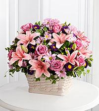 The FTD® Loving Sympathy™ Basket- BASKET INCLUDED