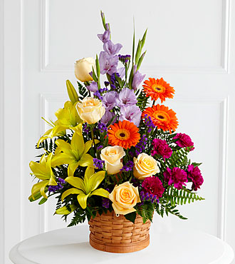The FTD® Forever Dear™ Arrangement- BASKET INCLUDED