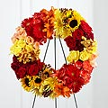 The FTD® Rural Beauty™ Wreath