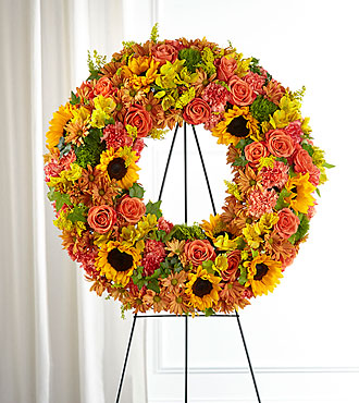 Autumnal Memories Wreath