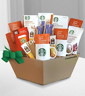 Starbucks® Coffee, Cocoa & Chocolate to Share