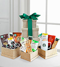 Starbucks® Holiday Evergreen Sampler
