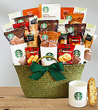 Starbucks® Celebration Basket
