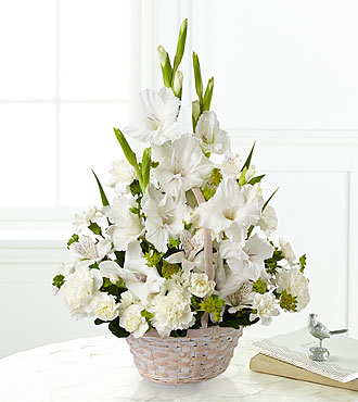 The FTD® Eternal Affection™ Arrangement - BASKET INCLUDED