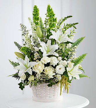 The FTD® In Our Thoughts™ Arrangement- BASKET INCLUDED