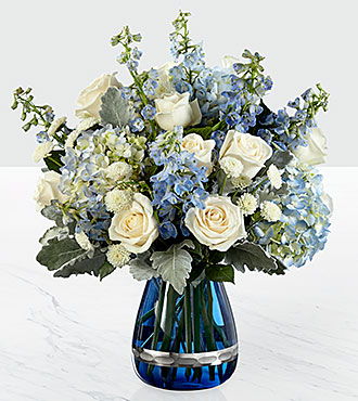 Faithful Guardian Bouquet Vase Included