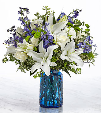 Le bouquet Healing Love™ – VASE INCLUS