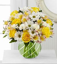 Bouquet Sunlit Blooms™ - VASE INCLUS