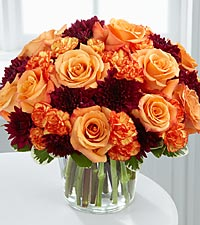 The FTD® Serene Sunset™ Bouquet