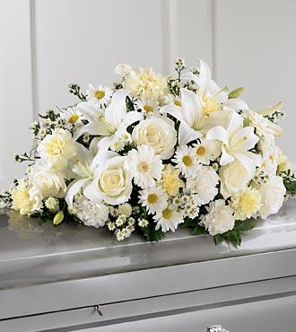 La gerbe mortuaire Sweet Peace™ de FTD®