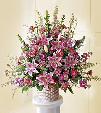 The FTD® Leaf & Petals™ Basket