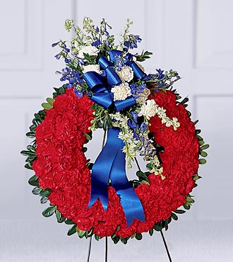 The FTD® All American Tribute™ Wreath