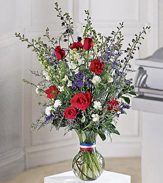 Le bouquet Salute to a Patriot™ de FTD®
