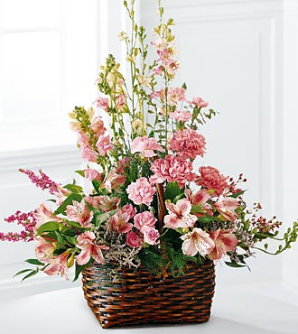 The FTD® Exquisite Memorial™ Basket