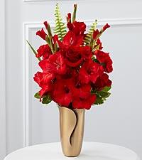 The FTD® Red Mausoleum Bouquet