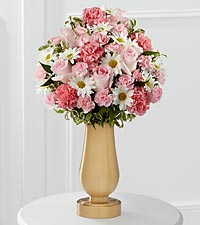 The FTD® Pink Cemetery Monument Bouquet