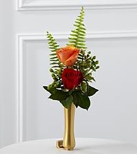 Le vase de boutons de fleurs assorties pour mausolée de FTD®