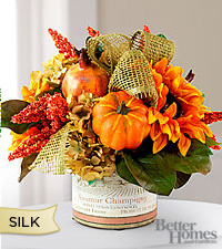 The Better Homes and Gardens® Silk Sutumn Comforts Bouquet