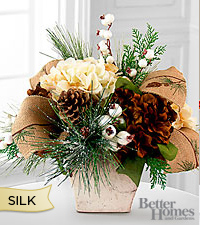 The FTD® Winter Enchantment Silk Arrangement by Better Homes and Gardens®