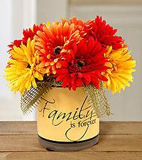 Silk Family is Forever Fall Bouquet