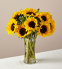 Honey Bee Sunflower Bouquet